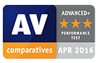 award-av-comparatives-performance-test-3-star-4-2016-tuneup-performance